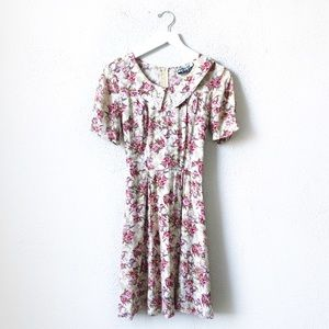 Marnie West   Vintage Babydoll Floral Dress